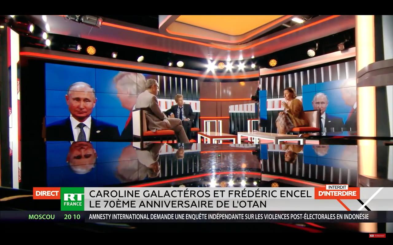 C. Galactéros sur RT : 70ème anniversaire de l'OTAN