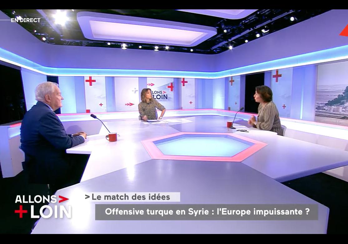 Offensive turque, Brexit, Catalogne, Conseil des ministres franco-allemand