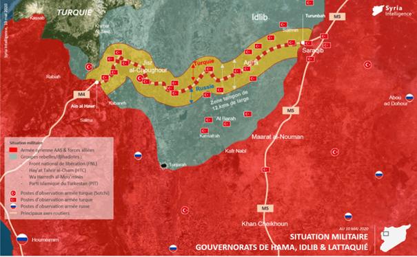 Veille géopolitique hebdomadaire sur le conflit syrien