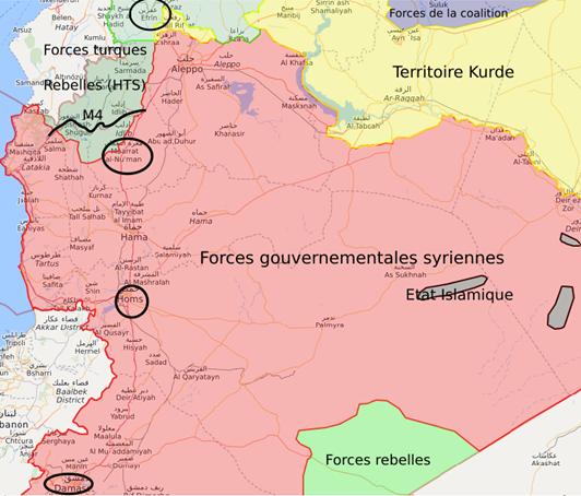 Veille géopolitique hebdomadaire sur la Syrie