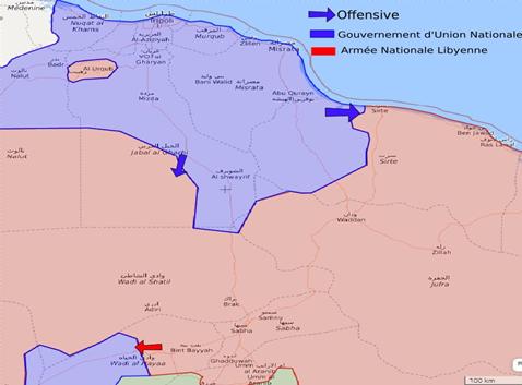 Veille géopolitique hebdomadaire sur la Libye