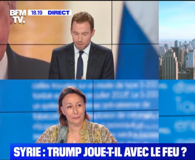 C. Galactéros sur BFMTV – Syrie : Trump joue-t-il avec le feu ?