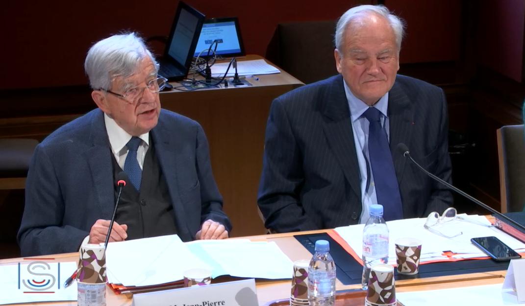 Audition au Sénat de Jean-Pierre Chevènement au sujet de la Russie