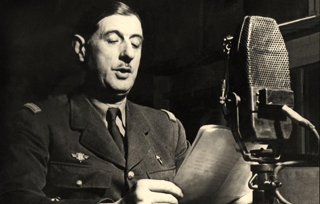 Appel du 18 juin 1940 par le Général de Gaulle