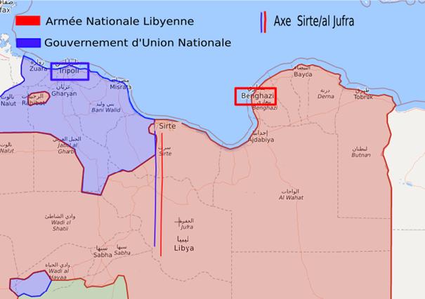 Veille hebdomadaire sur le conflit libyen
