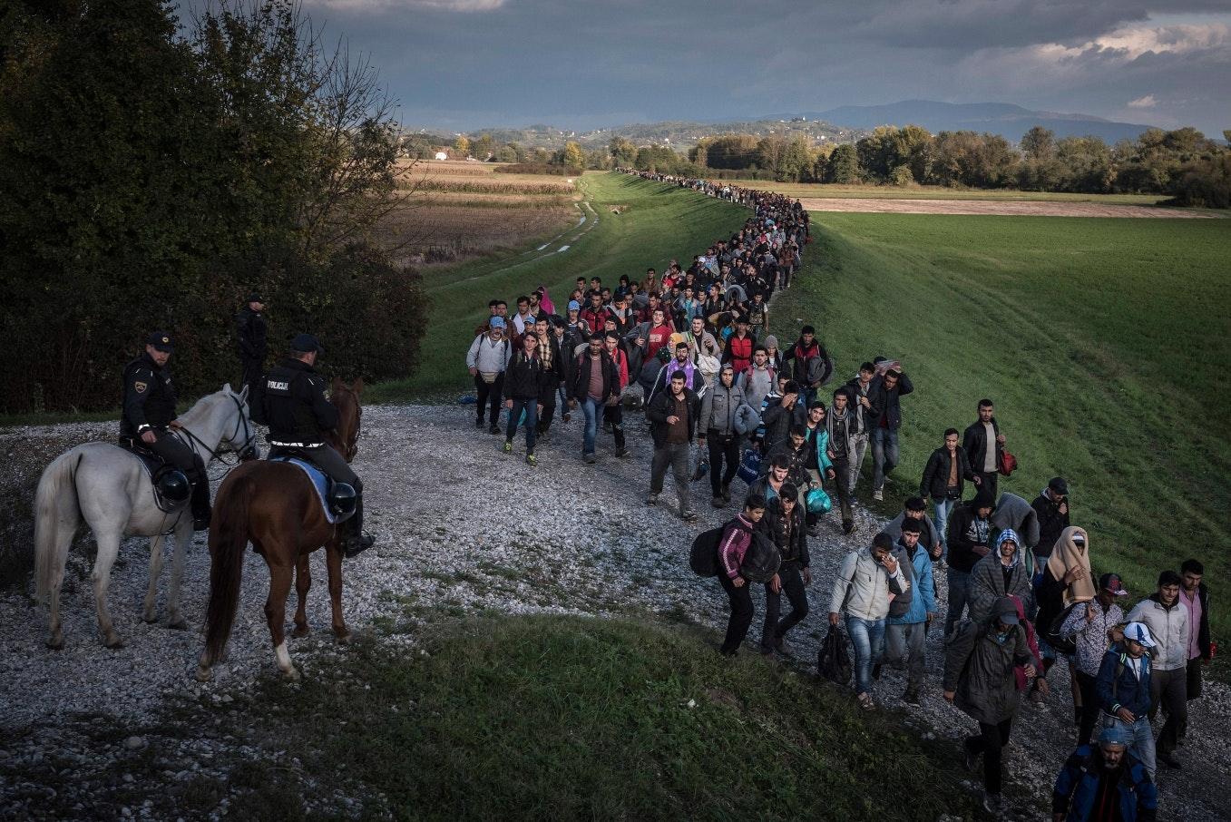 Le détournement massif du droit d'asile