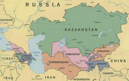 L'Afghanistan et l'Asie Centrale