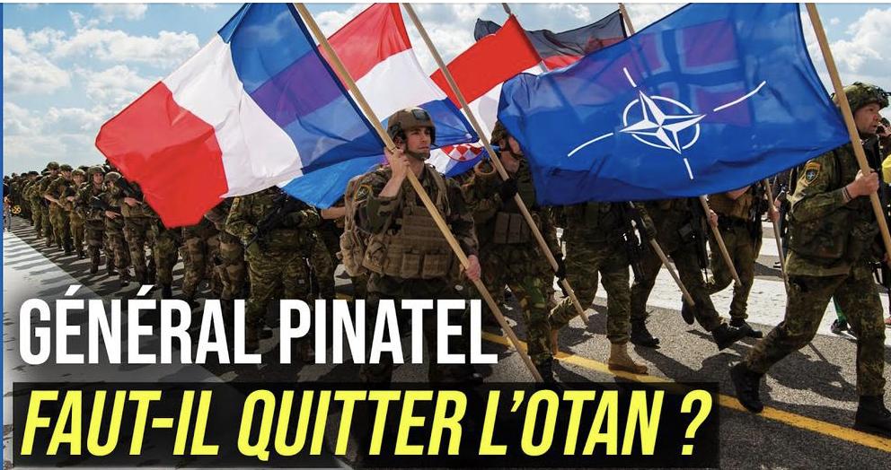 Parole d'expert : faut-il quitter l'OTAN ? avec le Général Pinatel, vice-président de Geopragma