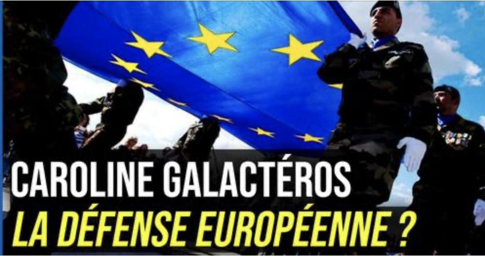 Parole d'expert : Défense Européenne, Mythe ou Réalité ? Avec Caroline Galacteros, fondatrice et présidente de Geopragma.